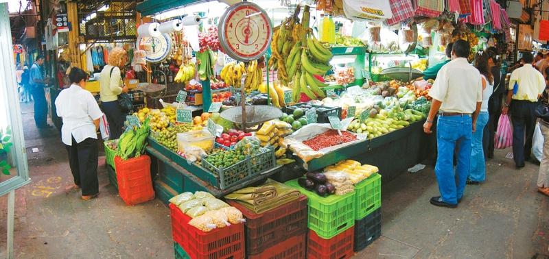 Zentralmarkt in San José