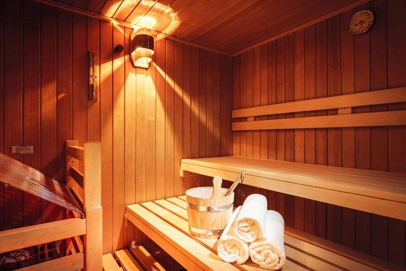 Sauna im Hotel Macun