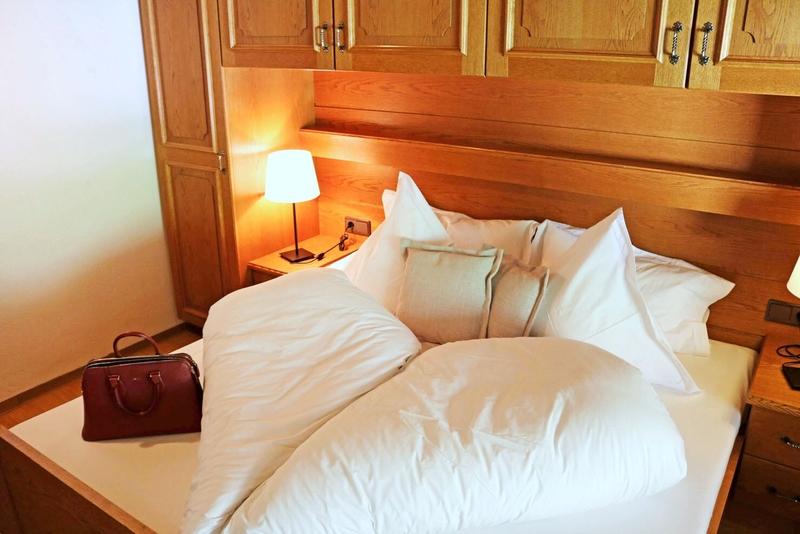 Wohnbeispiel im Hotel Macun